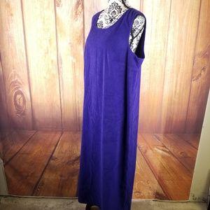 Jessica Howard Dark Purple Maxi Dress